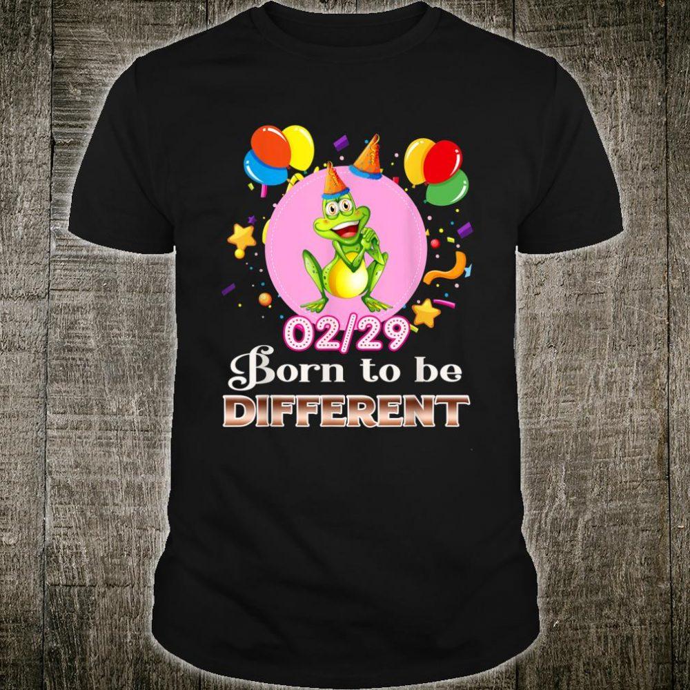Vintage Birthday Leap Year 29th February 2020 Shirt