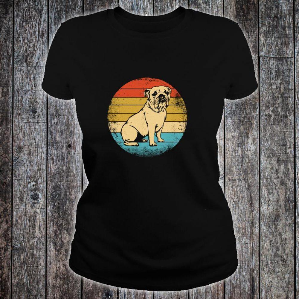 Vintage Bulldog Shirt ladies tee