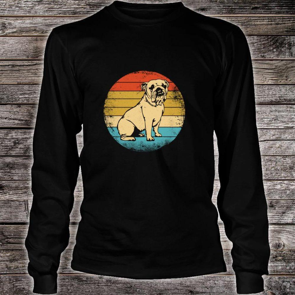 Vintage Bulldog Shirt long sleeved