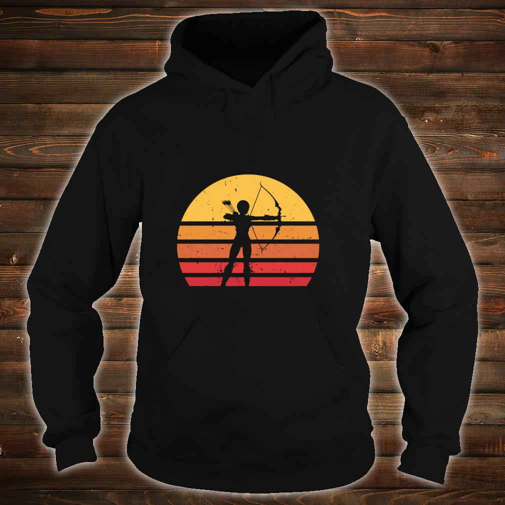 Vintage Distressed Archery Retro Shirt hoodie