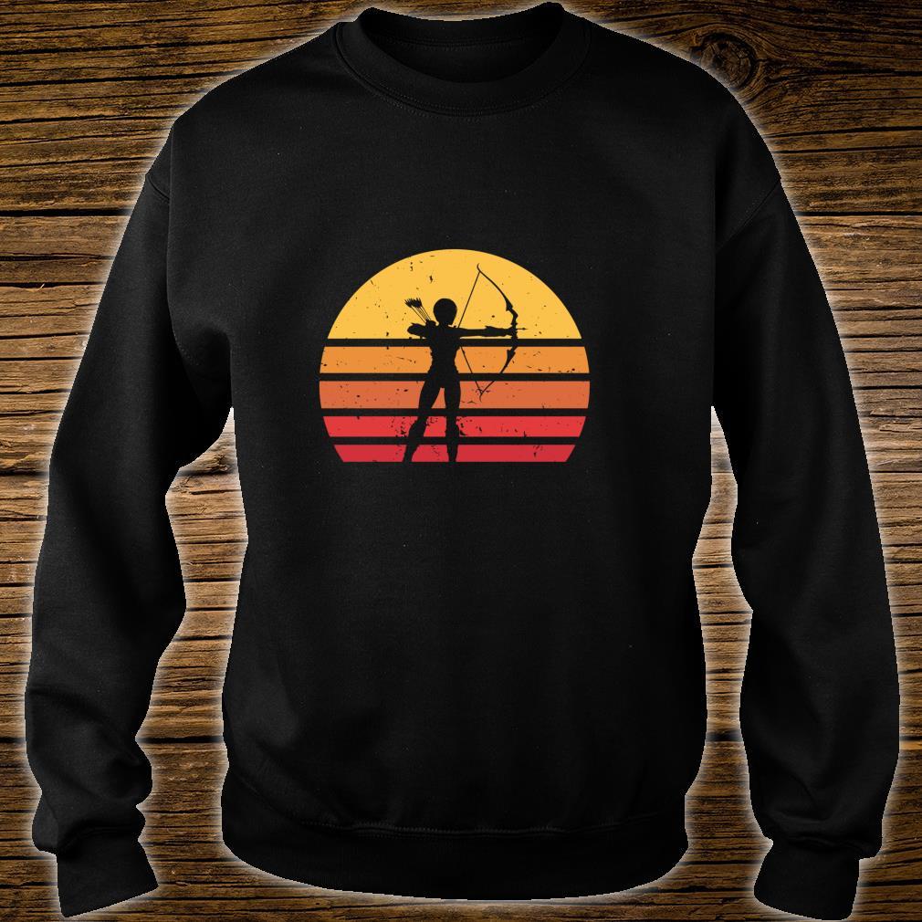 Vintage Distressed Archery Retro Shirt sweater