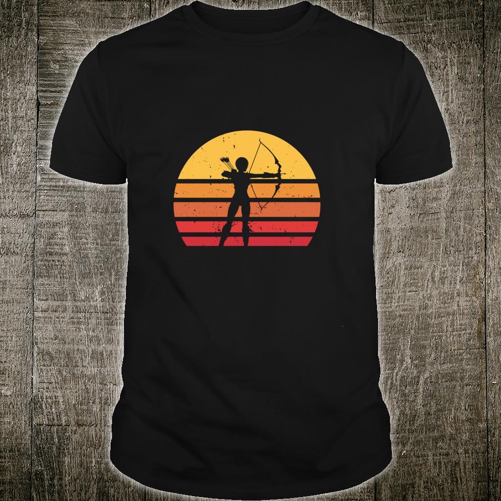 Vintage Distressed Archery Retro Shirt