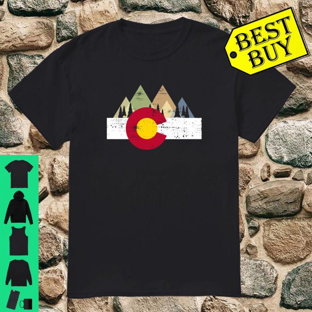 Vintage Distressed Colorado Flag Shirt