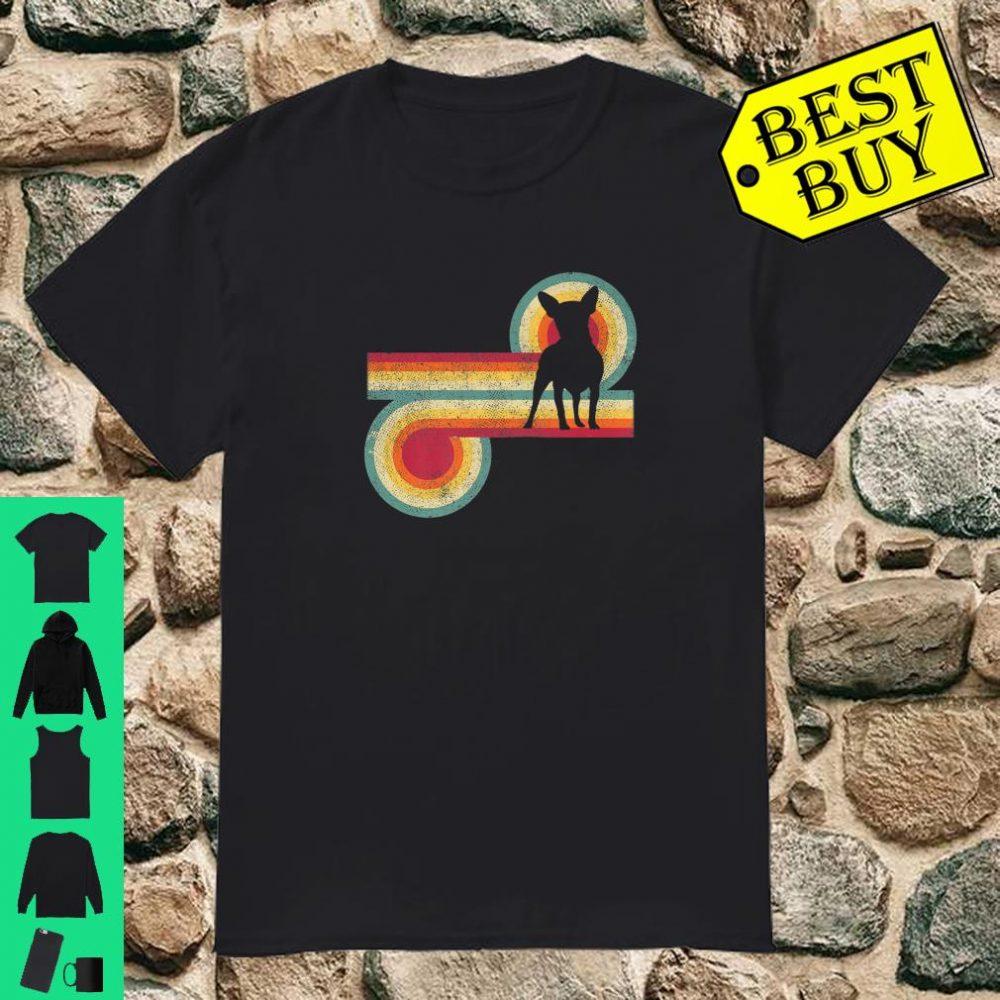 Vintage Dog Chihuahua 70's 80's Style Retro Shirt