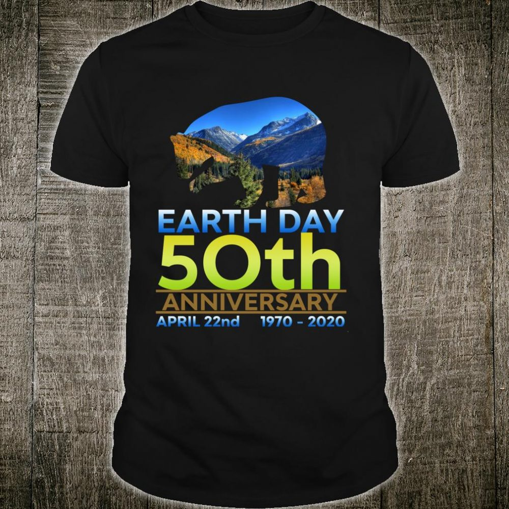 Vintage Earth Day 2020 50th Anniversary Shirt