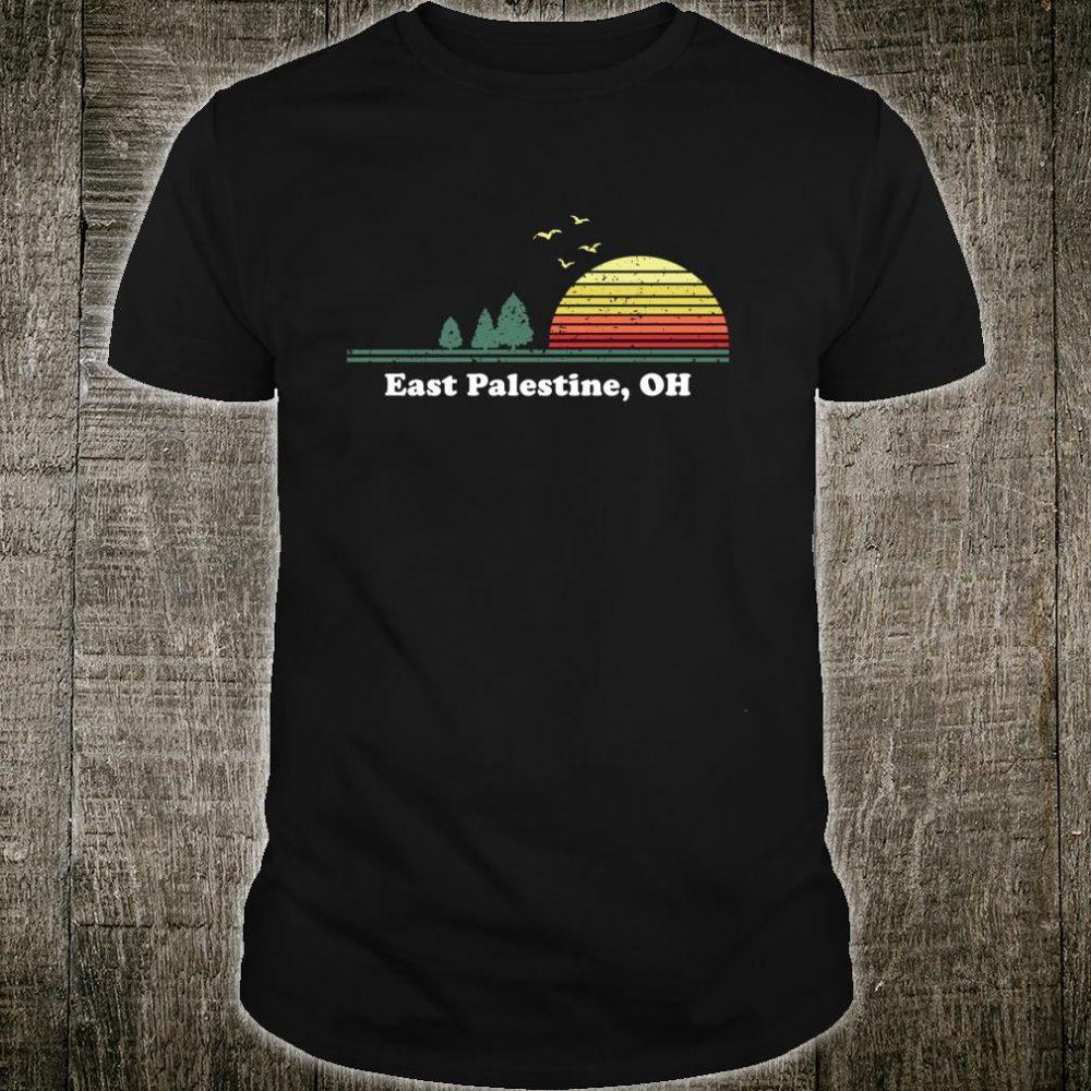 Vintage East Palestine, Ohio Home Souvenir Print Shirt