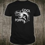Vintage Fishing Reel Cool Poppy Shirt Father's Day Shirt