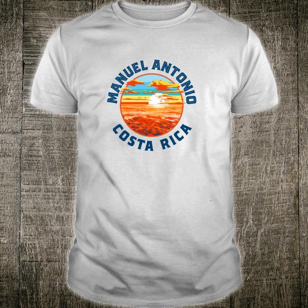 Vintage Manuel Antonio Costa Rica Retro Beach & Surf Shirt
