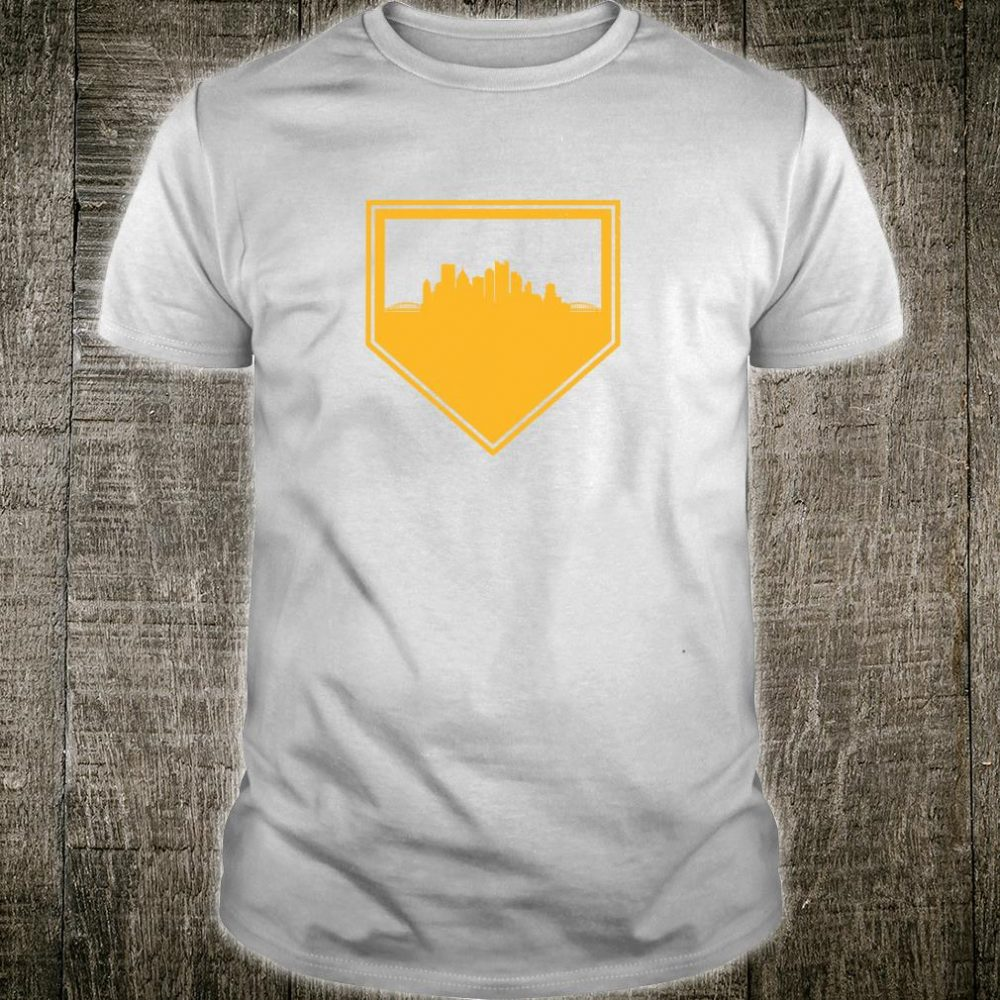 Vintage Pittsburgh Baseball Home Plate PA Pirate Gameday Shirt