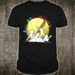 Vintage Retro Softball Design Softball Shirt