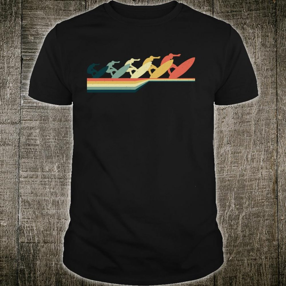 Vintage Retro Style SURFING Shirt