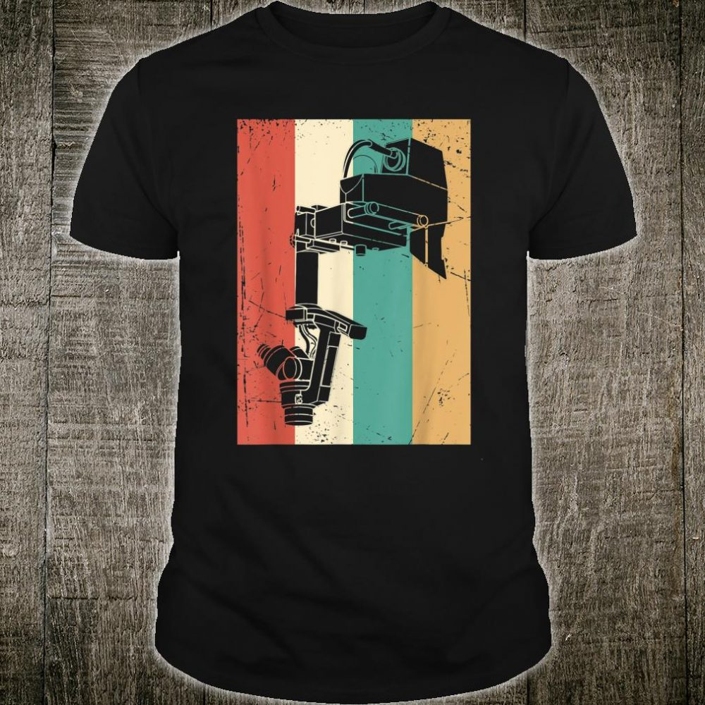 Vintage Surgeon Doctor Retro Surgical Microscope Shirt