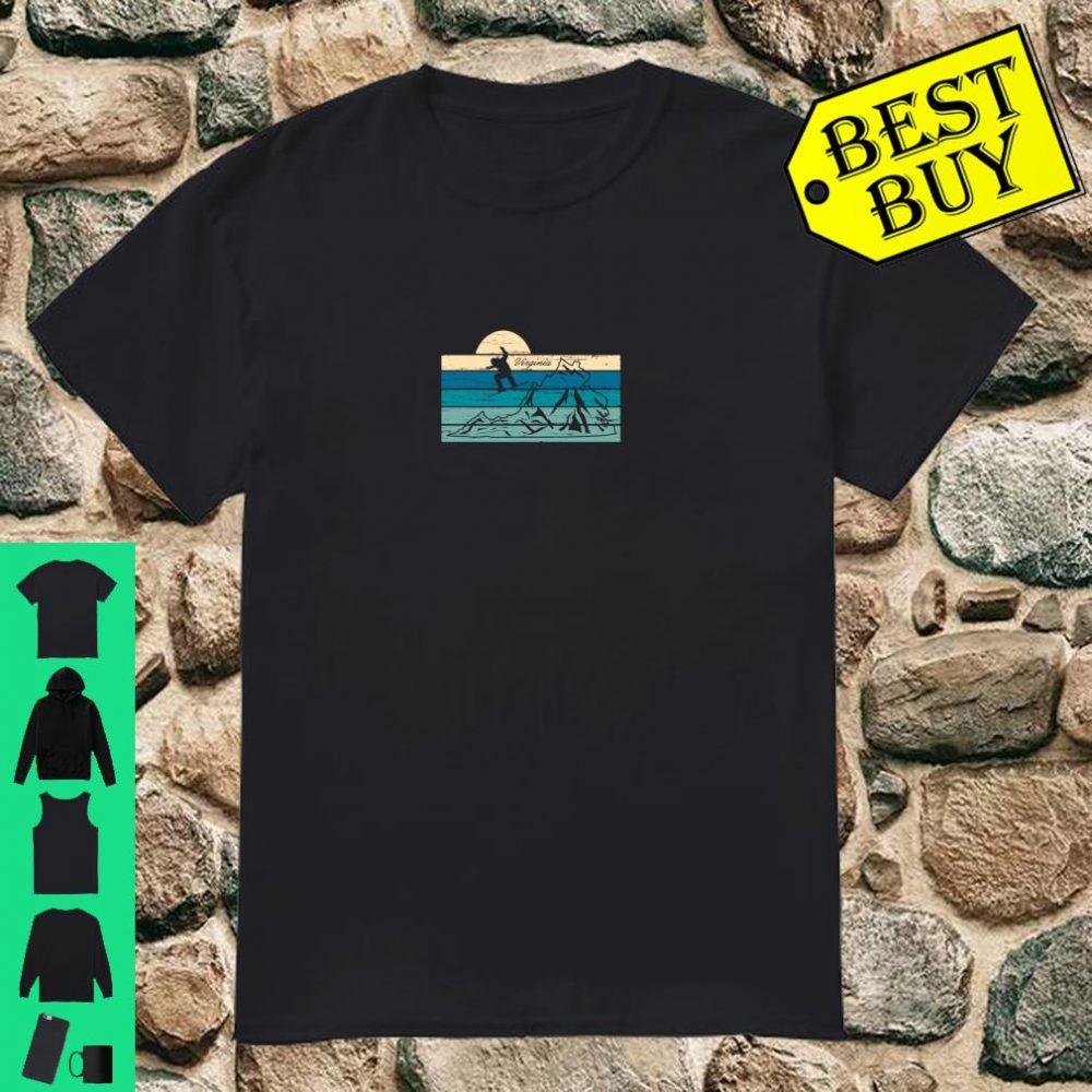 Vintage Virginia Mountain Snowboard Snowboarding Ski Shirt