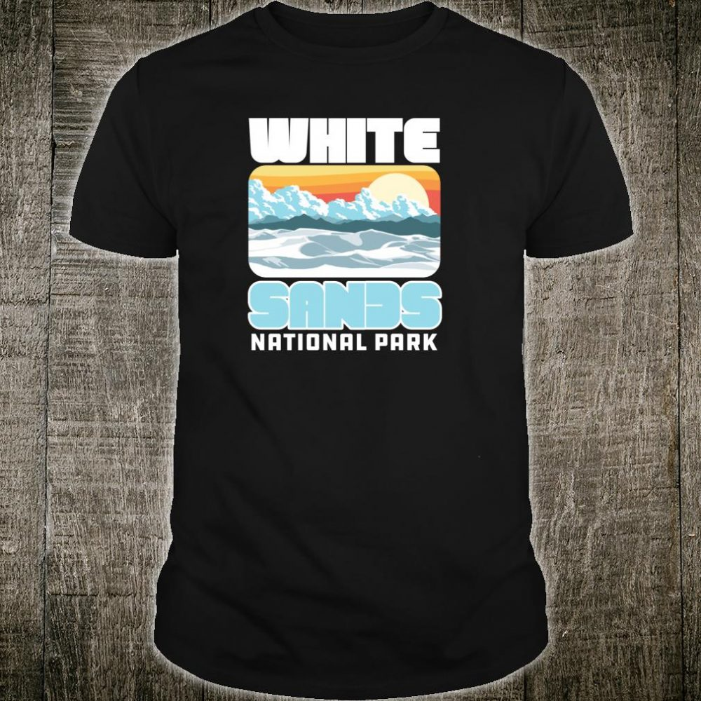 Vintage White Sand National Park Retro 80's Shirt