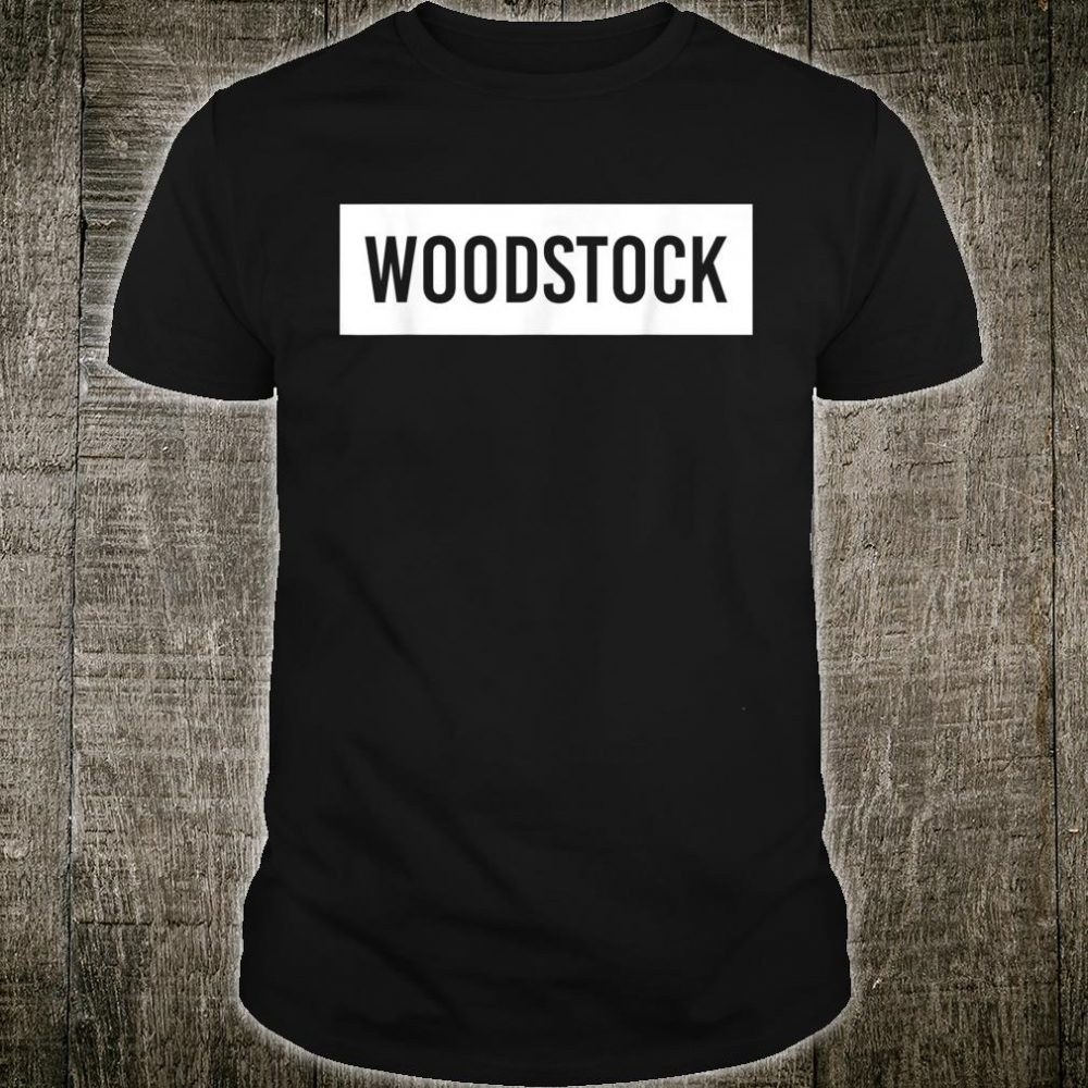 WOODSTOCK IL ILLINOIS City Home Roots USA Shirt