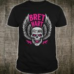 WWE Bret Hart Winged Skull Shirt