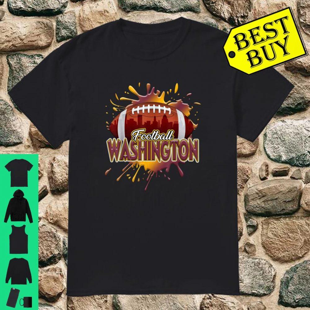 Washington Football Shirt for Women Washington Skyline Shirt