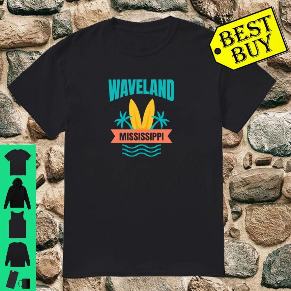 Waveland Beach Family Vacation Mississippi Beach Gift Shirt