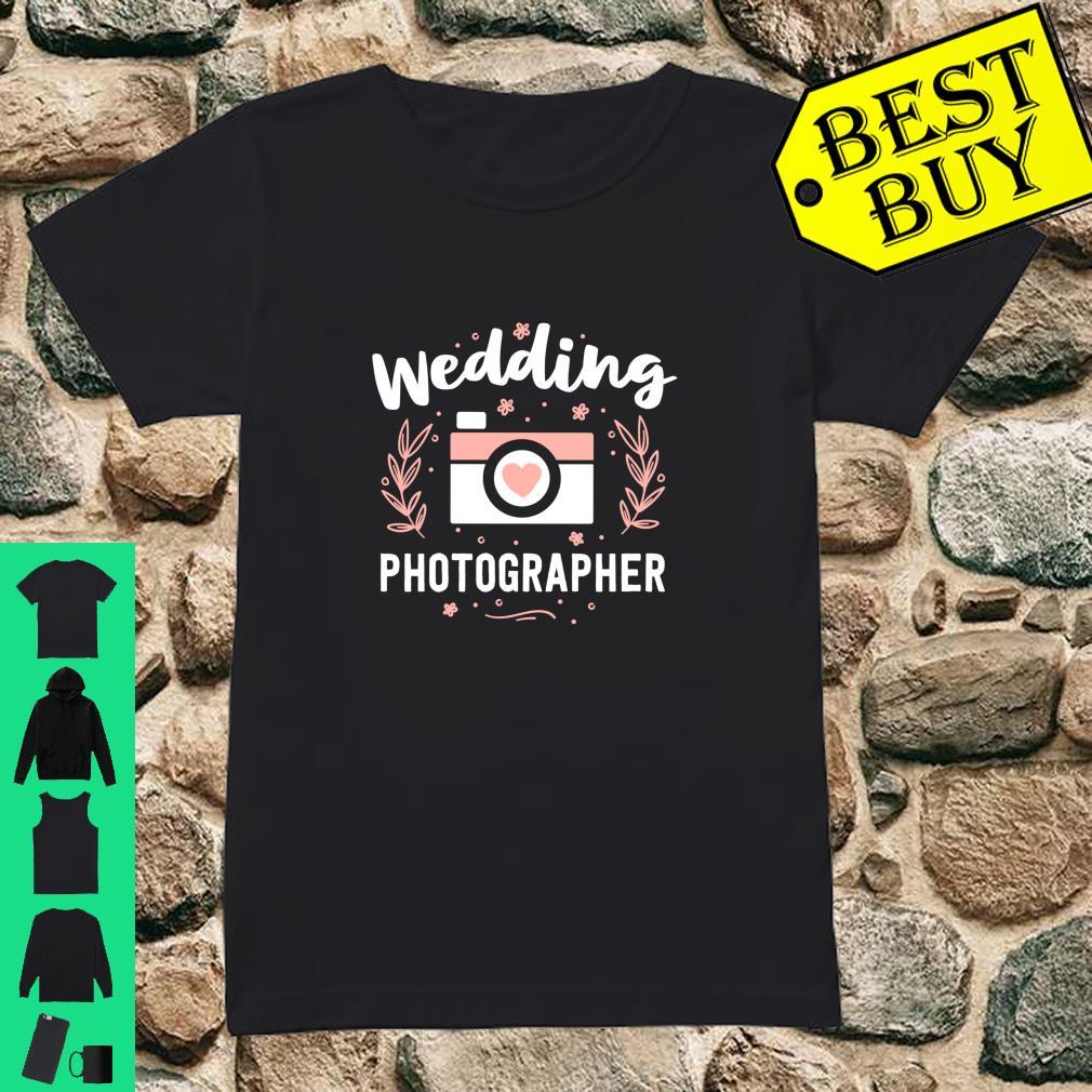 Wedding Photographer Camera Family Photography Shirt ladies tee