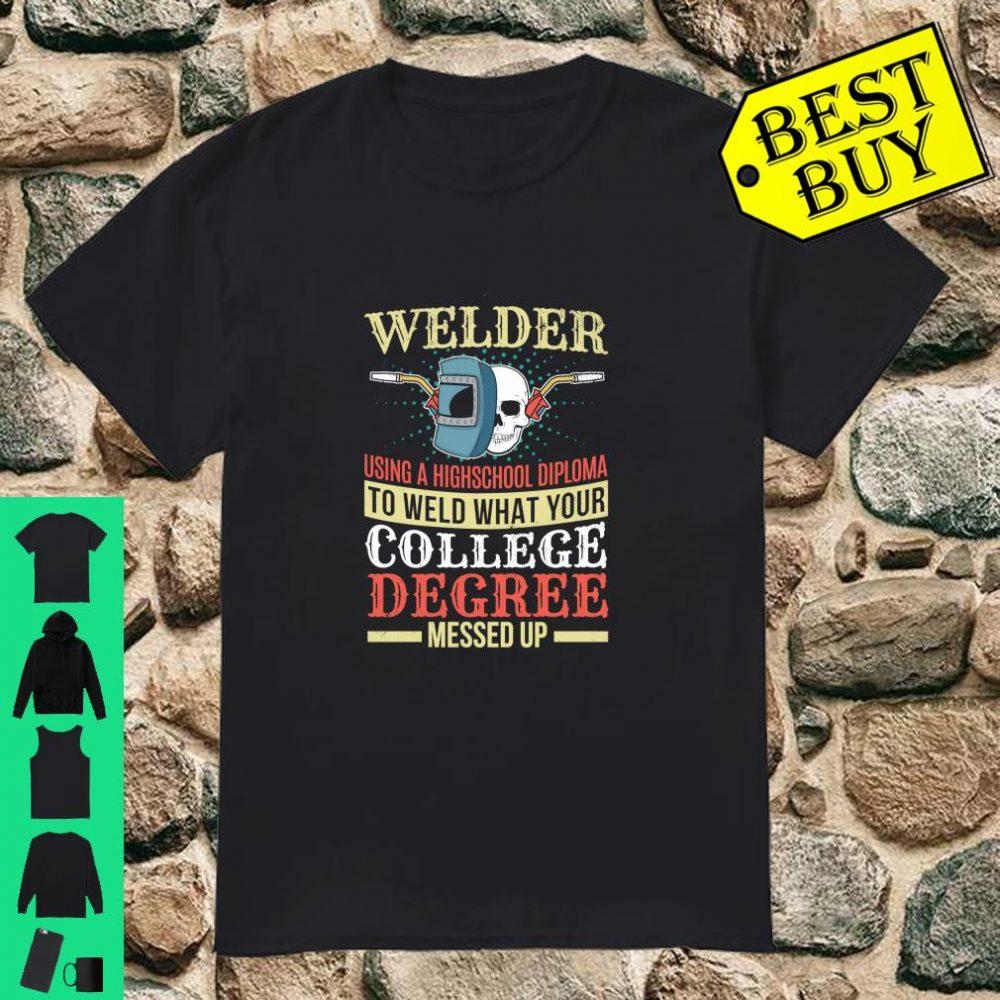 Welding Welder Vintage Weld Welders Shirt
