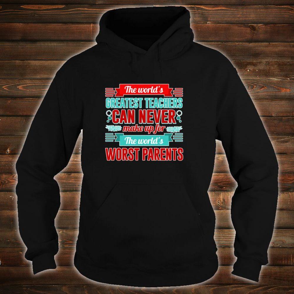 World's Greatest Teacher Appreciation Shirt hoodie