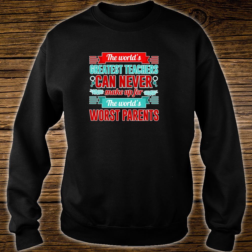 World's Greatest Teacher Appreciation Shirt sweater