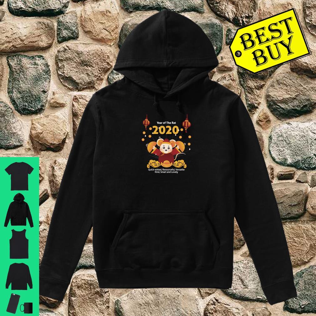 Year of the Rat Shirt Chinese New Year 2020 Girls Boys Shirt hoodie