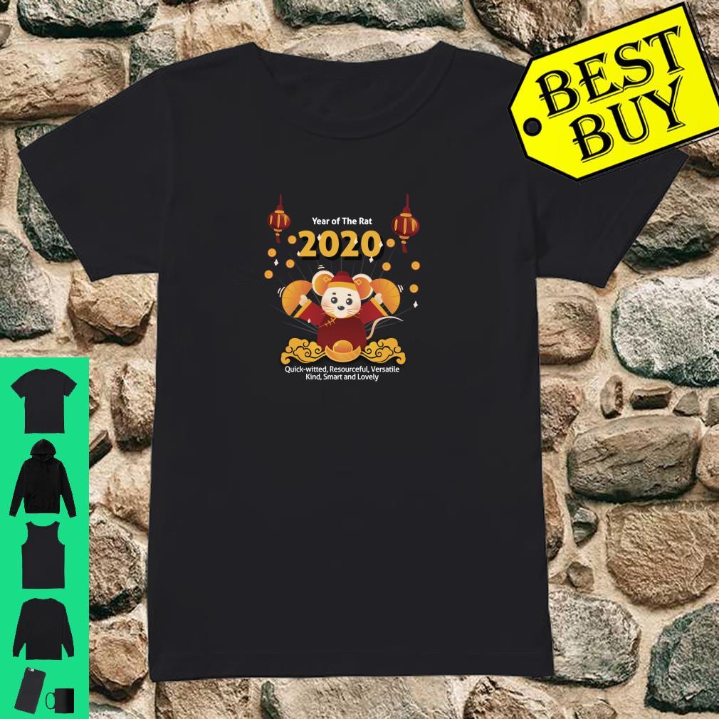 Year of the Rat Shirt Chinese New Year 2020 Girls Boys Shirt ladies tee