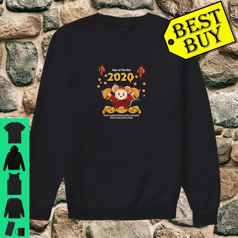 Year of the Rat Shirt Chinese New Year 2020 Girls Boys Shirt sweater