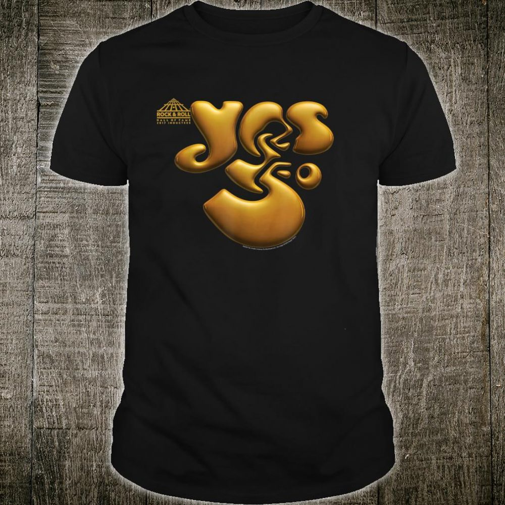 Yes Fifty Years Logo Shirt