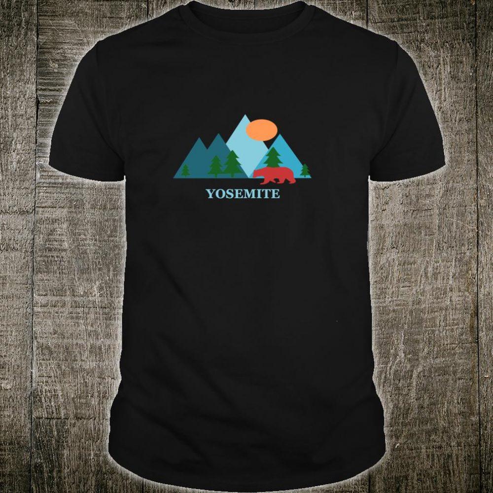 Yosemite National Park Nature Vacation Souvenir or Shirt