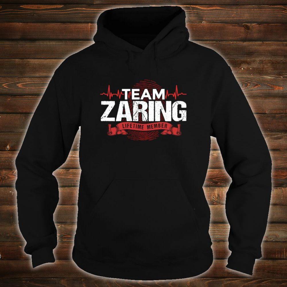 ZARING Family Reunions Member DNA Heartbeat Shirt hoodie