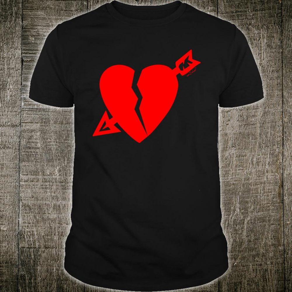 ZeeLee Cupid Broken Heart Shirt