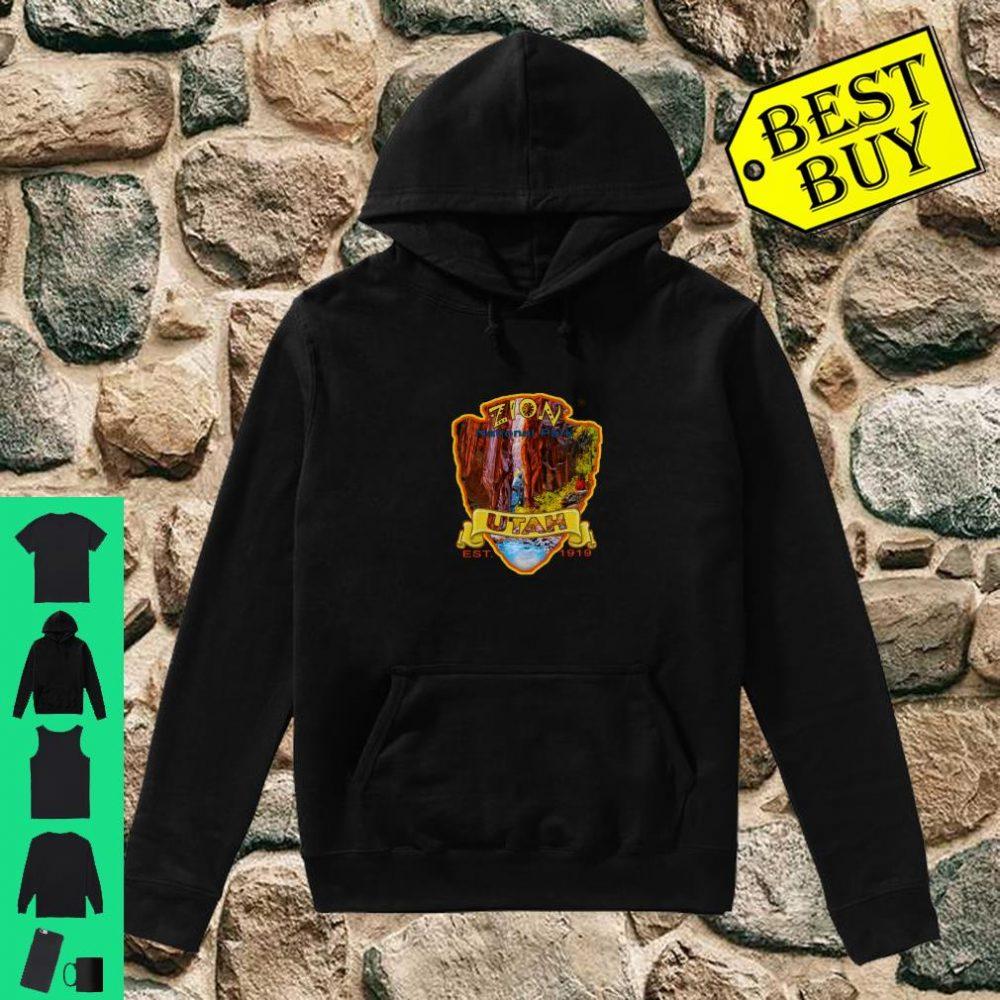 Zion National Park Utah Virgin River Narrows Canyon Souvenir Shirt hoodie