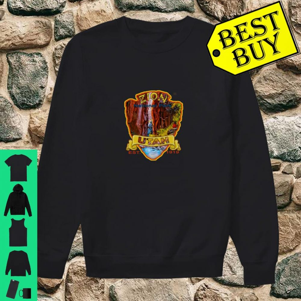 Zion National Park Utah Virgin River Narrows Canyon Souvenir Shirt sweater