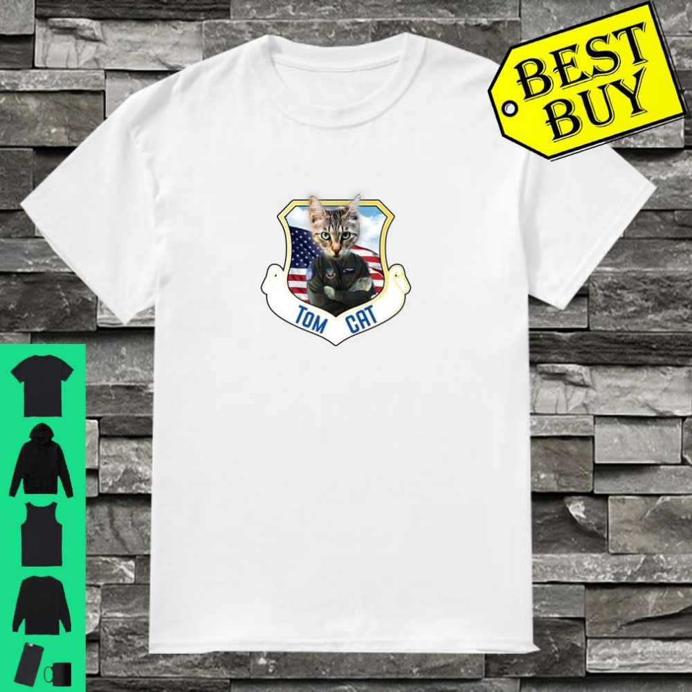 f14 Pilot Cat shirt